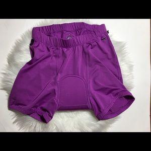 Zoic Cycling Shorts Liner Women's Purple sz. S